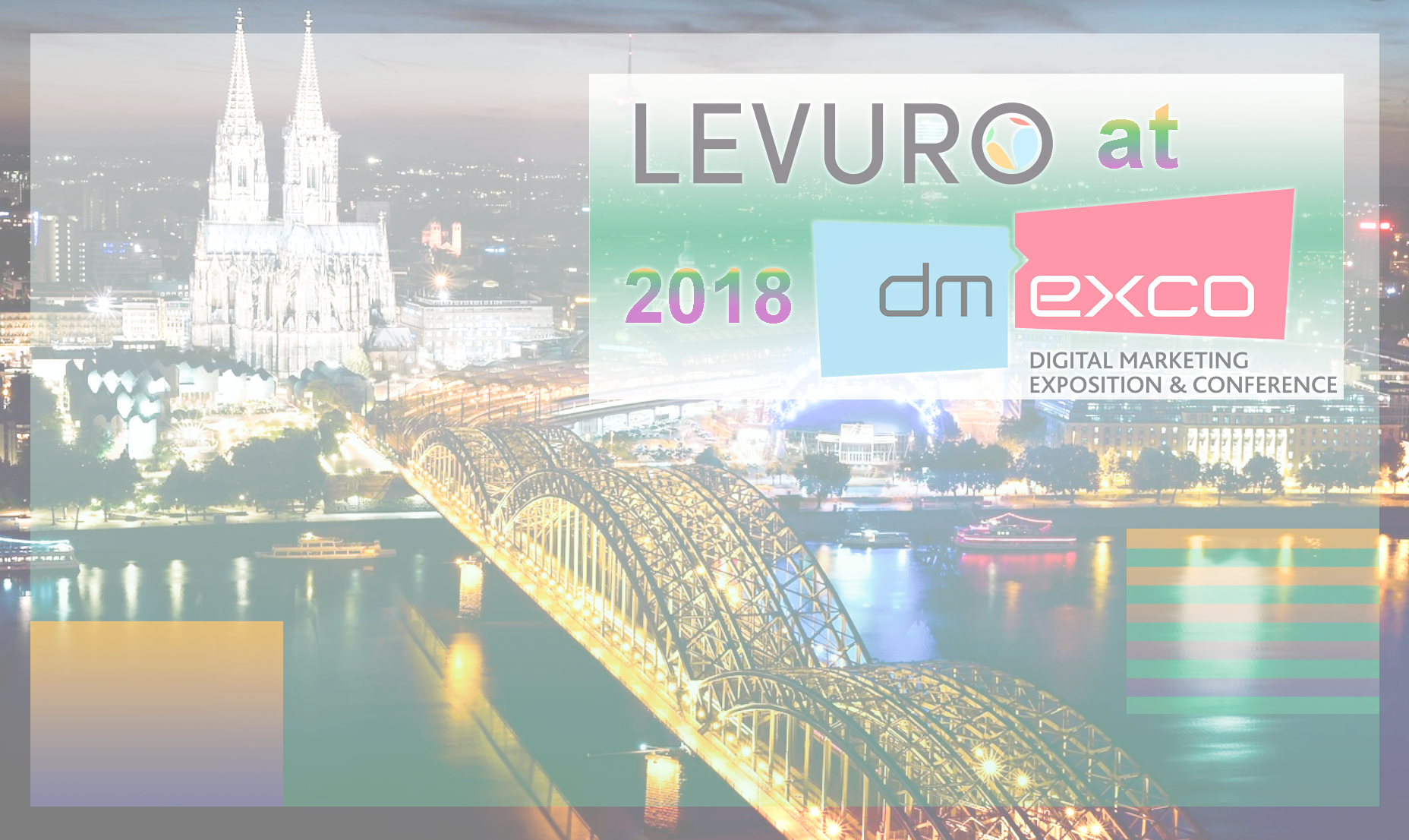 Meet LEVURO at DMEXCO 2018